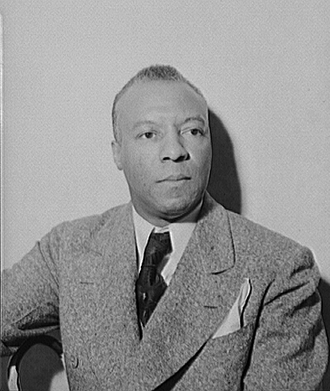 Brotherhood of Sleeping Car Porters - Brotherhood of Sleeping Car Porters founder A. Philip Randolph, the public face of the union, as he appeared in 1942.