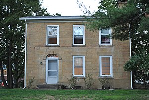 National Register of Historic Places listings in Licking County, Ohio - Image: A. A. Bancroft House