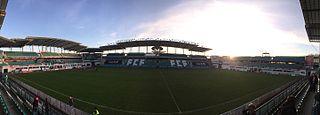 A. Le Coq Arena football stadium