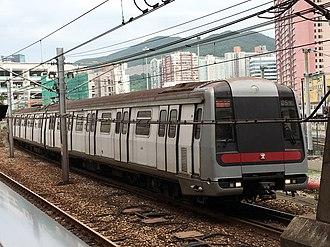 Island line (MTR) - Image: A135 A138(054) Island Line 17 07 2018