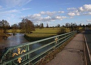 A3400 road - A3400 bridge over the River Stour