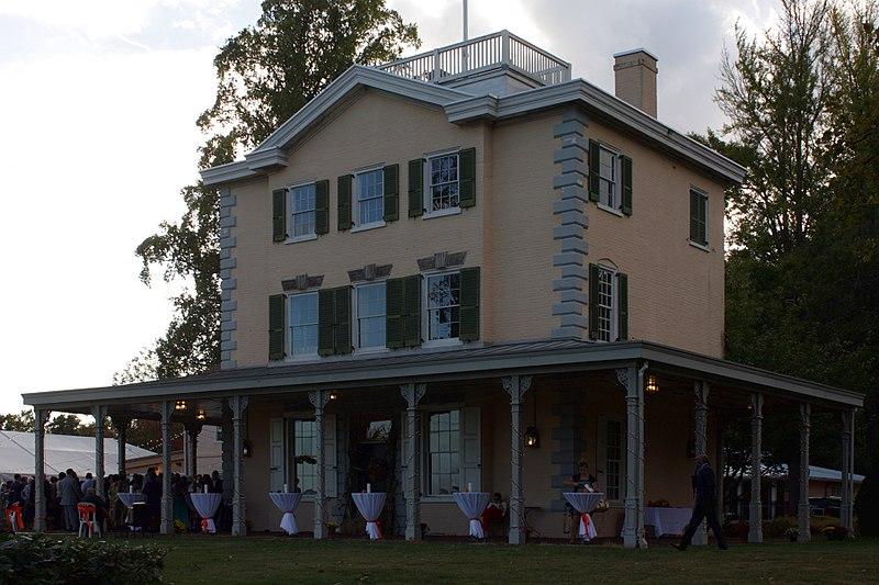 File A563 Belmont Mansion Fairmount Park Philadelphia