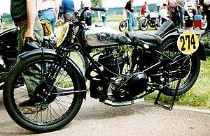 AJS - AJS 500 cc OHC Racer 1931