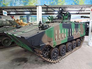AMX-10P - AMX-10P at the Musée des Blindés, Saumur.