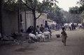 ASC Leiden - van Achterberg Collection - 03 - 57 - Une rue sablonneuse animée vers le fleuve Niger - Ségou, Mali - novembre-décembre 1993.tif