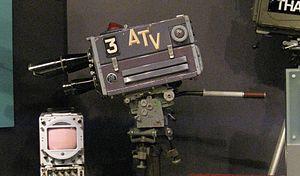 Associated Television - ATV camera at the National Media Museum, Bradford