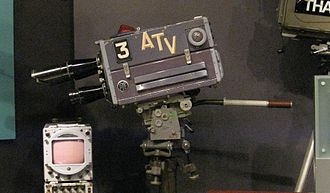 Associated Television - ATV camera at the National Media Museum, Bradford