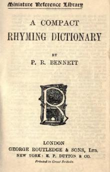 A Compact Rhyming Dictionary.djvu