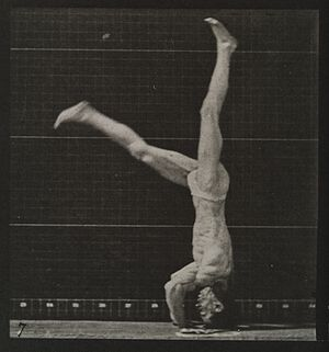 A man performing a foward flip. Plate 7 Wellcome L0038091.jpg