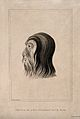 A man whose head and face are covered with hair. Aquatint af Wellcome V0009310.jpg