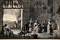 A peasant family in a farm-house. Etching by F. Bartolozzi a Wellcome V0015114.jpg