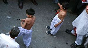 Punjabi festivals (Pakistan) - A street observation of Muharram in Lahore Pakistan