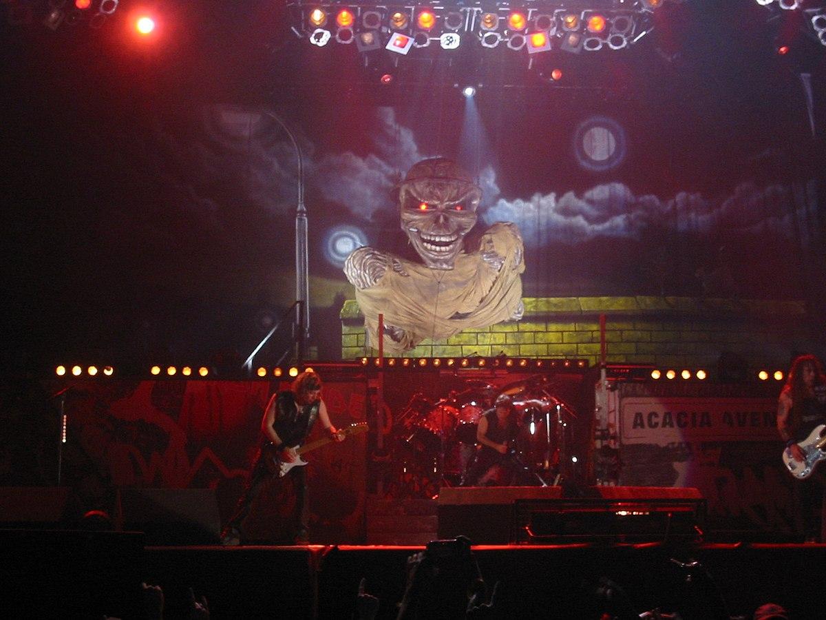 Iron Maiden Tour Tickets