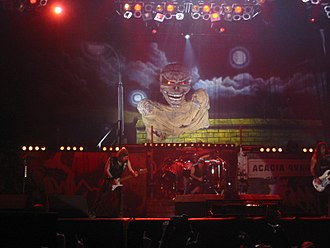 """Eddie the Head - The """"Extra-large"""" Eddie used during the Eddie Rips Up the World Tour"""