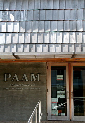 Provincetown Art Association and Museum - PAAM entrance