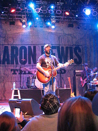 Aaron Lewis - Lewis performing at the House of Blues in Cleveland in 2013