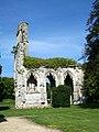 Abbaye de la Victoire, bas-côté de l'église abbatiale de 1472.jpg