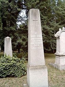 Ábel Jenő sírja Budapesten, Kerepesi temető: 34/2-1-51