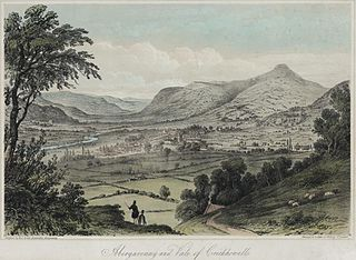 Abergavenny and Vale of Crickhowell: from the Little Skirrid