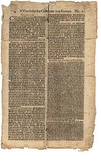 <i>Haarlems Dagblad</i> Dutch newspaper