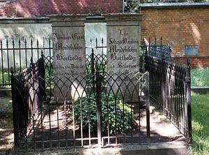 Abraham Mendelssohn Bartholdy - Grave of Abraham and Lea Mendelssohn Bartholdy