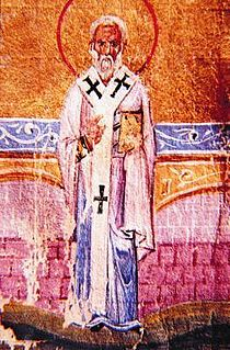 Acathius of Melitene 3rd-century bishop and saint from Armenia