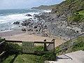 Access to Combesgate Beach - geograph.org.uk - 1329745.jpg