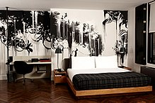 Graffiti Style Interior Murals[edit]