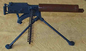 """Action Man - Toy Vickers machine gun by Palitoy from their """"Action Man"""" toy range. Approximately 1/6th scale."""