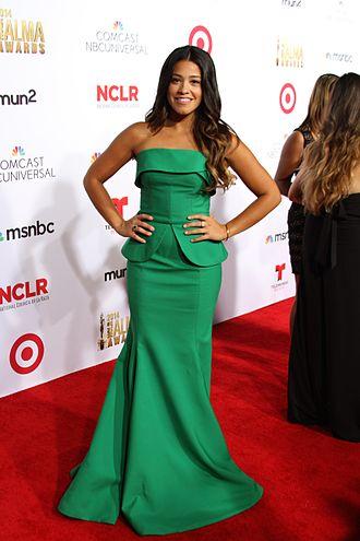 Gina Rodriguez - Rodriguez at the 2014 Alma Awards