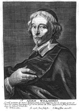 Adam Willaerts - Adam Willaerts in Het Gulden Cabinet p 111