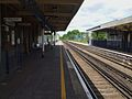 Addlestone station look west.JPG