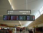 Adelaide Airport Terminal One Interior.JPG