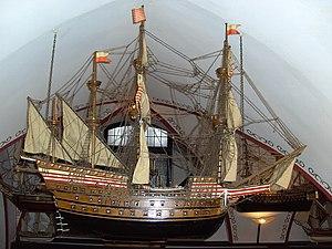 Adler von Lübeck - Image: Adler von Lübeck. Model ship 01