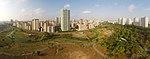 Aerial perspective of Bishan Park. Panorama Shot in 2014.jpg