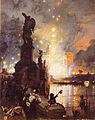 Aerni, Franz Theodor - La girandola a castel San Angelo - c. 1874-80.jpg