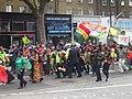 Afrikan Emancipation Day - Demonstration in Kennington Rd, London (cropped).jpg