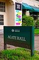 Agate Hall Sign (34764263312).jpg