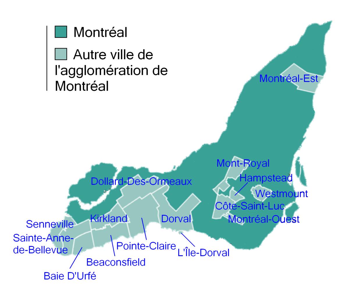 Montreal Region - Wikidata