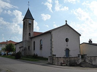 Agincourt, Meurthe-et-Moselle - The church in Agincourt