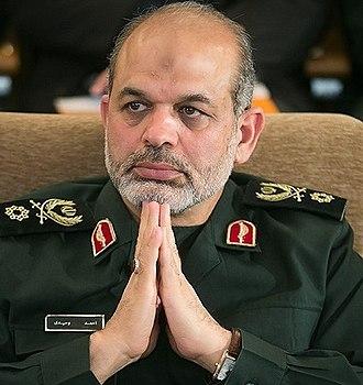 Ahmad Vahidi - Ahmad Vahidi in 2004
