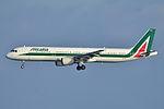"Airbus A321-100 Alitalia (AZA) I-BIXA - MSN 477 - Named ""Piazza del Duomo - Milano"" (7158588434).jpg"
