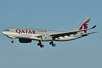 A7-AFZ - A332 - Qatar Airways