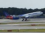 Aircalin A330-202 F-OHSD take off at Narita International Airport 2.jpg