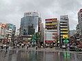 Akabane Station east exit area 2020-09-02.jpg