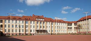 Polish Naval Academy - Main square of PNA