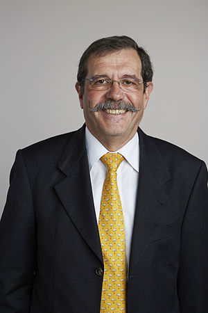 Alain Aspect - Alain Aspect in 2015, portrait via the Royal Society