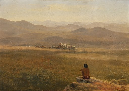 Albert Bierstadt - The Lookout (1900)