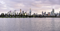 Albert Park Lake & Melbourne City Skyline, 2016.png