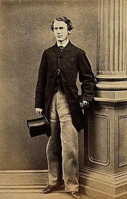 Albert Vickers. Photograph, Paris, 1863. Wellcome V0028546.jpg